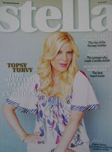 Stella magazine - Tori Spelling cover (8 July 2007)