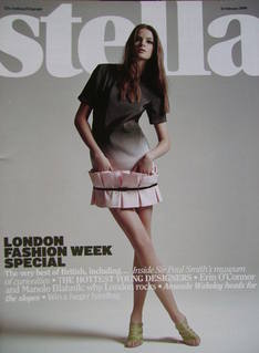 <!--2008-02-10-->Stella magazine - London Fashion Week Special cover (10 Fe