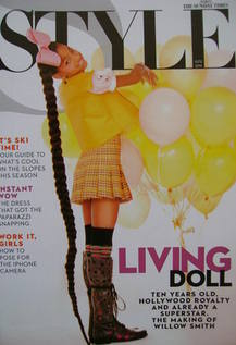 <!--2010-12-12-->Style magazine - Willow Smith cover (12 December 2010)