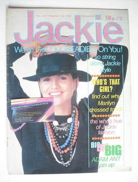 <!--1984-02-25-->Jackie magazine - 25 February 1984 (Issue 1051)