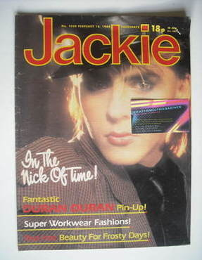 <!--1984-02-18-->Jackie magazine - 18 February 1984 (Issue 1050 - Nick Rhod