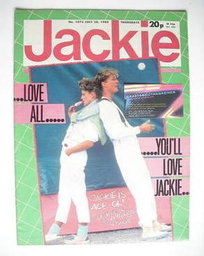<!--1984-07-28-->Jackie magazine - 28 July 1984 (Issue 1073)