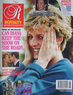 Royalty Monthly magazine - Princess Diana cover (Vol.11 No.8, 1992)
