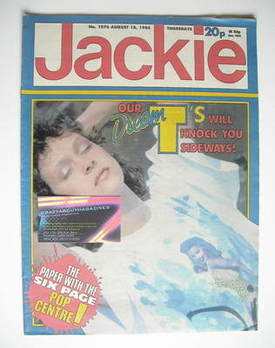<!--1984-08-18-->Jackie magazine - 18 August 1984 (Issue 1076)