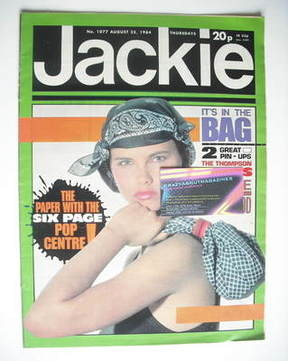 <!--1984-08-25-->Jackie magazine - 25 August 1984 (Issue 1077)