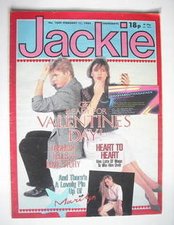 <!--1984-02-11-->Jackie magazine - 11 February 1984 (Issue 1049)
