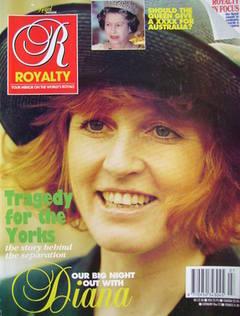 Royalty Monthly magazine - Sarah Ferguson cover (Vol.11 No.7, 1992)