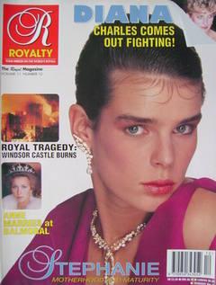 Royalty Monthly magazine - Princess Stephanie cover (Vol.11 No.12, 1992)