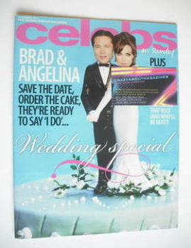Celebs magazine - Brad Pitt and Angelina Jolie cover (14 August 2011)