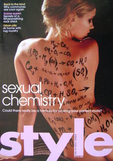 Style magazine - Sexual Chemistry cover (28 May 2006)