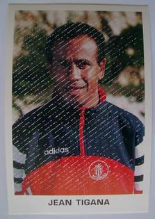 Jean Tigana autograph