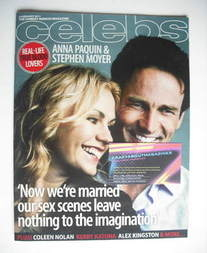 <!--2011-02-06-->Celebs magazine - Anna Paquin and Stephen Moyer cover (6 F