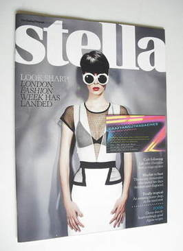 <!--2011-02-20-->Stella magazine - London Fashion Week cover (20 February 2
