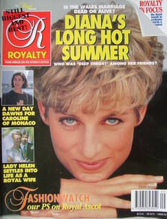 Royalty Monthly magazine - Princess Diana cover (Vol.11 No.9, 1992)