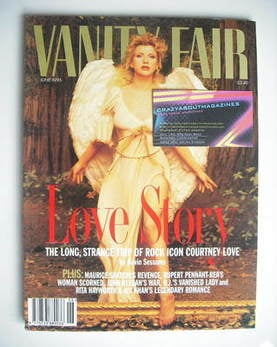 Vanity Fair magazine - Courtney Love cover (June 1995)