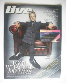 Live magazine - Michael Douglas cover (26 September 2010)