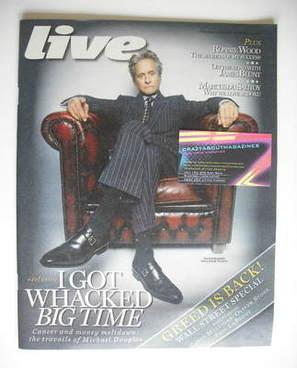 <!--2010-09-26-->Live magazine - Michael Douglas cover (26 September 2010)