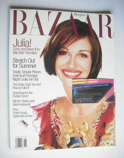<!--1997-06-->Harper's Bazaar magazine - June 1997 - Julia Roberts cover