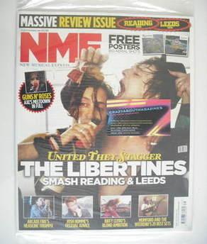 <!--2010-09-04-->NME magazine - The Libertines (4 September 2010)