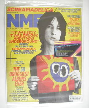 <!--2011-02-05-->NME magazine - Bobby Gillespie cover (5 February 2011)