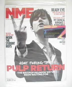 <!--2010-11-20-->NME magazine - Jarvis Cocker cover (20 November 2010)