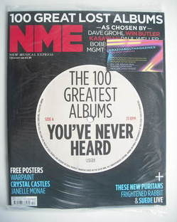 <!--2011-01-01-->NME magazine - The 100 Greatest Albums You've Never Heard