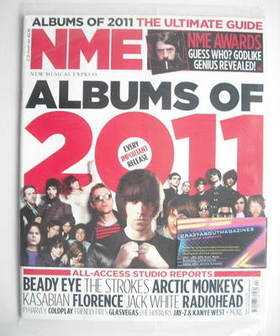 <!--2011-01-15-->NME magazine - Albums of 2011 cover (15 January 2011)