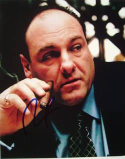 James Gandolfini autograph