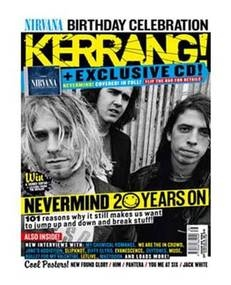 Kerrang magazine - Nirvana cover (24 September 2011 - Issue 1382)
