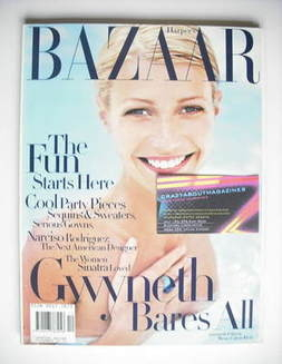 <!--1997-12-->Harper's Bazaar magazine - December 1997 - Gwyneth Paltrow co