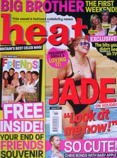<!--2004-06-05-->Heat magazine - Jade Goody cover (5-11 June 2004 - Issue 2