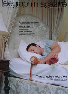 <!--2006-12-02-->Telegraph magazine - Andrew Lincoln cover (2 December 2006