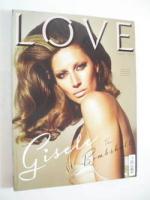 <!--2010-09-->Love magazine - Issue 4 - Autumn/Winter 2010 - Gisele Bundchen cover
