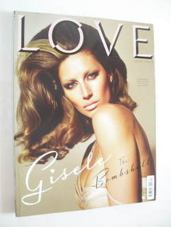 Love magazine - Issue 4 - Autumn/Winter 2010 - Gisele Bundchen cover