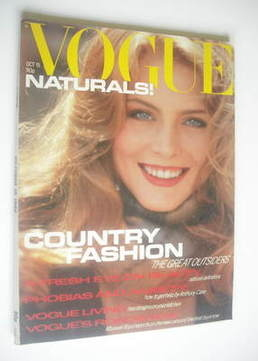 <!--1980-10-15-->British Vogue magazine - 15 October 1980 (Vintage Issue)