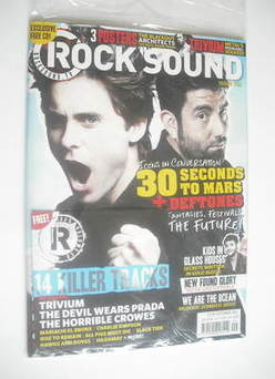 <!--2011-09-->Rock Sound magazine - 30 Seconds To Mars cover (September 201