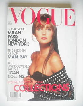 <!--1988-09-->British Vogue magazine - September 1988 - Paulina Porizkova c