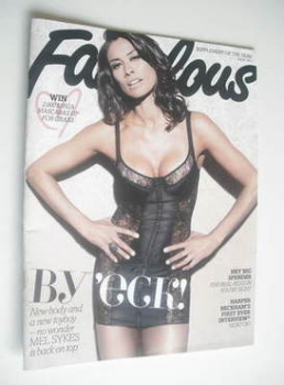 Fabulous magazine - Melanie Sykes cover (30 July 2011)