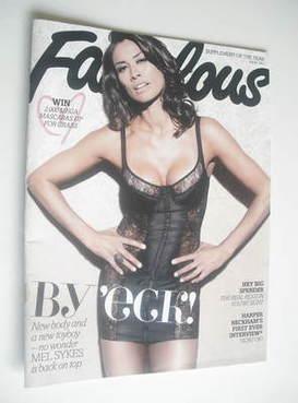 <!--2011-07-30-->Fabulous magazine - Melanie Sykes cover (30 July 2011)
