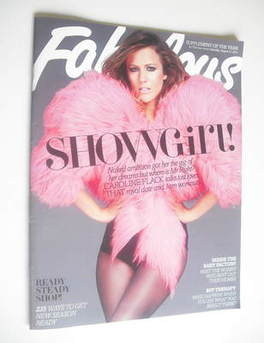 <!--2011-08-13-->Fabulous magazine - Caroline Flack cover (13 August 2011)