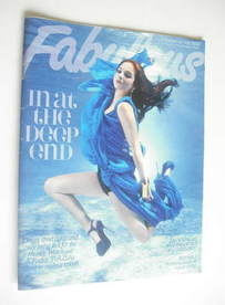 <!--2011-08-20-->Fabulous magazine - Tulisa Contostavlos cover (20 August 2