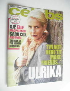 <!--2011-09-18-->Celebs magazine - Ulrika Jonsson cover (18 September 2011)
