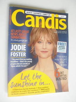 Candis magazine - July 2011 - Jodie Foster cover