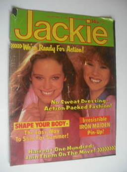 <!--1982-05-08-->Jackie magazine - 8 May 1982 (Issue 957)