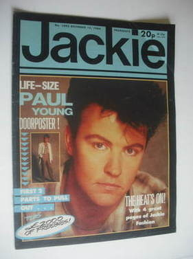 <!--1984-12-15-->Jackie magazine - 15 December 1984 (Issue 1093 - Paul Youn