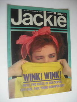 <!--1984-12-22-->Jackie magazine - 22 December 1984 (Issue 1094)