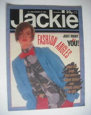 <!--1985-01-19-->Jackie magazine - 19 January 1985 (Issue 1098)