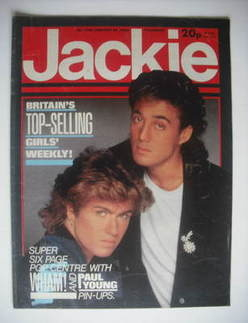 <!--1985-01-26-->Jackie magazine - 26 January 1985 (Issue 1099)