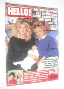 <!--1994-09-24-->Hello! magazine - Rod Stewart and Rachel Hunter cover (24