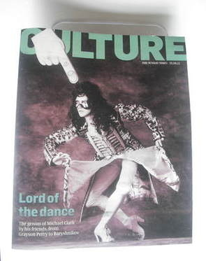 <!--2011-09-25-->Culture magazine - Michael Clark cover (25 September 2011)